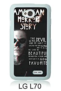 Newest LG L70 Case ,american horror story title White LG L70 Screen Phone Case Popular Fashion And Durable Designed