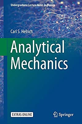 Buy Analytical Mechanics (Undergraduate Lecture Notes in