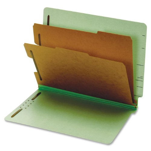 GLW23224 - Globe-weis Pressboard End Tab Classification Folders ()
