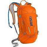 CamelBak M.U.L.E. Crux Reservoir Hydration Pack, Laser Orange /Pitch Blue, 3 L/100 oz