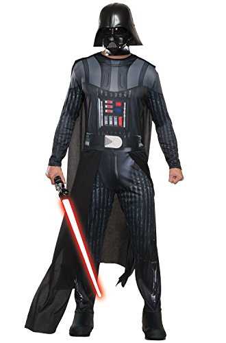 Rubie's Star Wars Men's Classic Darth Vader Costume, Multi, X-Large