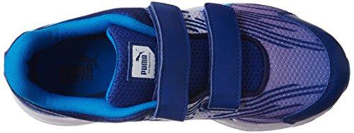 Puma Sequence V Kids - Zapatillas de Deporte de material sintético Infantil Azul (sodalite blue-cloisonné 05)