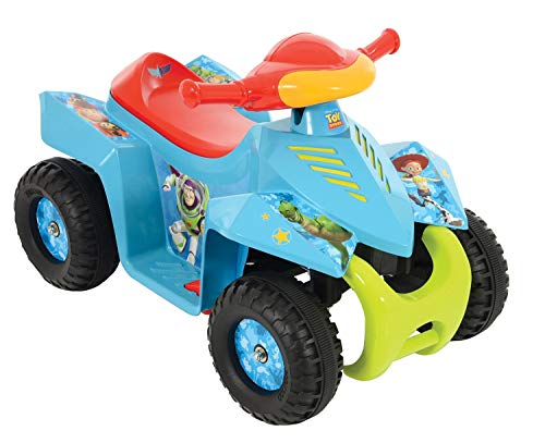 Battery Operated Quad - MV Sports Toy Story 6V Battery Operated Mini Quad Bike Blue Ages 2 Years+