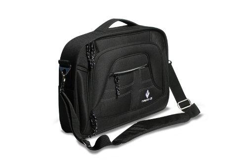 Hapo-G Korb PC Taschenhalterung für Gepäckträger, Schwarz, 31 x 10 x 42 cm, 11206003