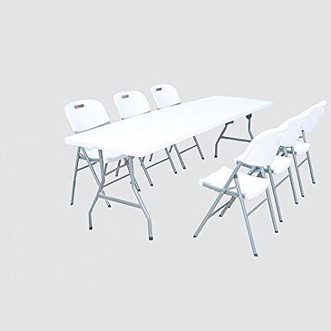 Druline Jardín, camping mesa de cerveza mesa y sillas Grupo ...