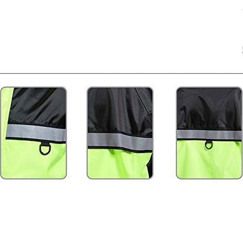 Donna All'aperto color Green Auto E Moto Pioggia Portare Xl Esterno Impermeabili Adulto Orange Uomo Impermeabile Elettrica Moda Size Pantaloni Da Set Geyao 8TqUawT