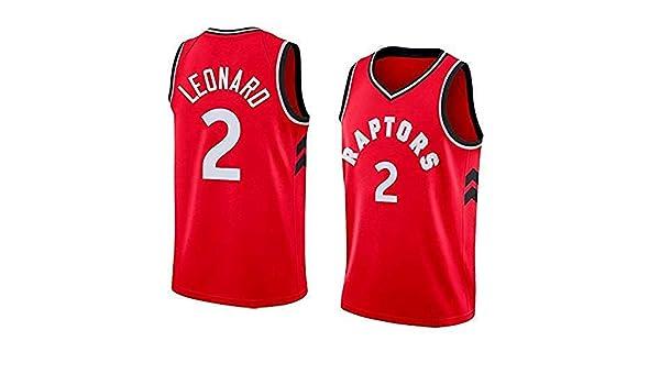 AKCHIUY Camiseta De Baloncesto Hombre, NBA Toronto Raptors # 2 ...