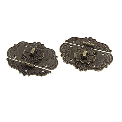 77mmx57mm Suitcase Jewelry Latch Antique