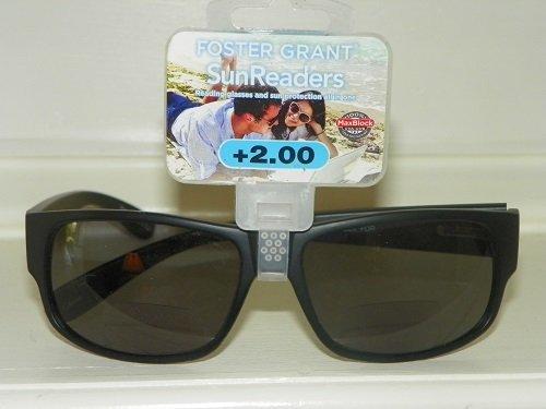 2.0 Foster Grant Reading / Sun Glasses Combo by - Sunreader