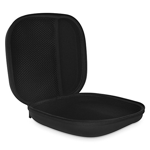 COWIN E7 Tailor-made Headphone Case, Waterproof Zipper Hard Travel Portable Headphone Carrying Case, Perfectly Fit for E7 Over-ear Headphones - Black