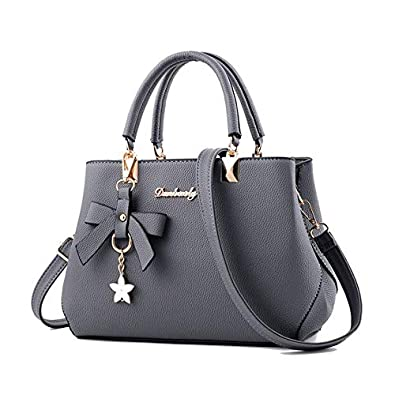 Ladies leather five-pointed star shoulder bag Messenger bag ...
