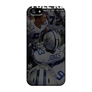 GRleal Iphone 5/5s Hybrid Tpu Case Cover Silicon Bumper Dallas Cowboys
