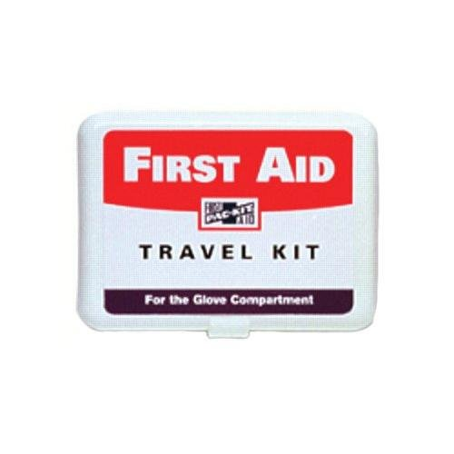 Pac-Kit by First Aid Only 7109 42 Piece Travel First Aid Kit In Plastic Case, For 10 People by First Aid Only