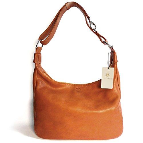 'Sun in pelle di alta qualità borsetta Valencia natural natural
