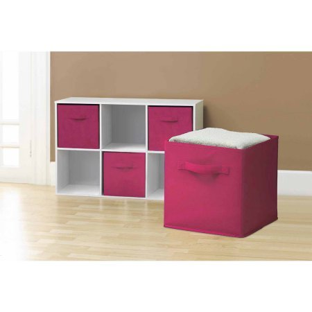sorbus-collapsible-storage-cube-nonwoven-polypropylene-and-cardboard-12-pack-pink