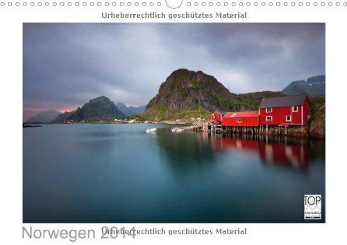 Norwegen 2014 - Land im Norden (Wandkalender 2014 DIN A3 quer): Monatskalender mit Bildern aus Norwegen. (Monatskalender, 14 Seiten)