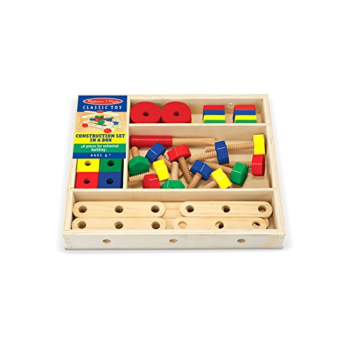 MELISSA & DOUG CONSTRUCTION SET IN A BOX (Set of 3)