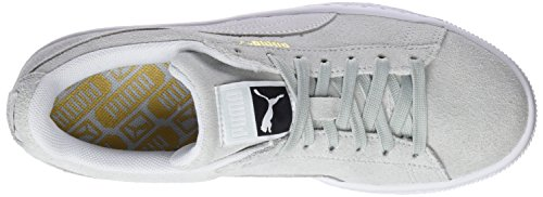 Puma Unisex-volwassenen Suede Klassieke Sneaker Blau (blauwe Bloem-puma Wit)