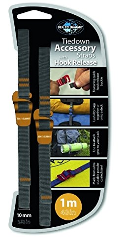 Hook Sea Hook (Sea To Summit 10mm Accessory Straps with Hook Release - 1M / 40 in)