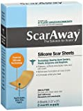 ScarAway Silicone Scar Sheets - 8 ct, Pack of 6