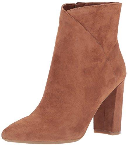 Nine West Women's Argyle Ankle Boot, Dark Natural Suede, 6 Medium - West Nine Booties