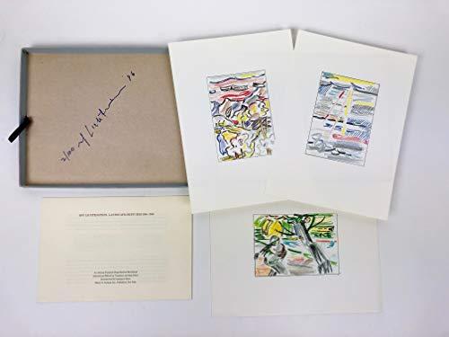 1985 Landscapes - Lichtenstein, Roy. (1923?1997): Landscape Sketches: 1984-1985 (C. App. 9), 1986