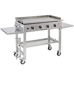3. Blackstone 36 inch Stainless Steel Outdoor Cooking Gas Grill Griddle Station
