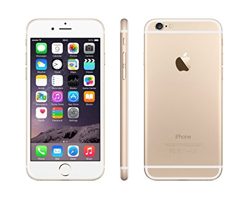 Apple iPhone 6 16GB Gold LTE Cellular Virgin Mobile (Renewed) (Iphone Virgin Mobile 6)