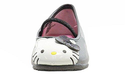 Hello Kitty Småbarn Flickor Mode Balett Lägenheter Hk Lil Abbey Skor Fe2640 Svart