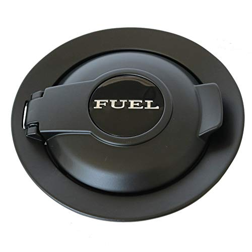 dodge challenger fuel door black - 4