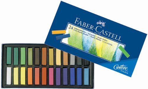 faber-castel-fc128224-creative-studio-soft-pastel-crayons-24-pack-assorted