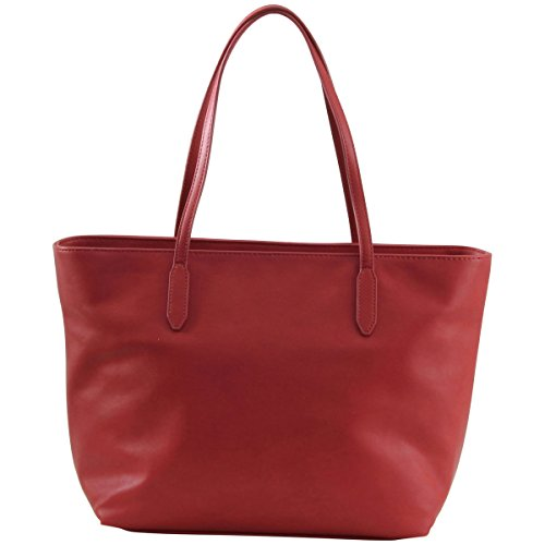 Love Moschino Women's Embroidered Rose Red Tote Handbag by Love Moschino (Image #2)