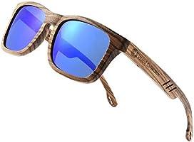 Wood Sunglasses Handmade Classical Polarized For Men&Women- Grey Sunglasses