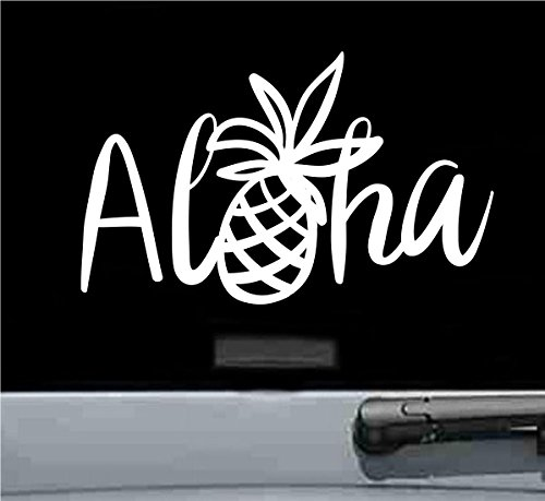 Aloha pineapple Vinyl Decal Sticker