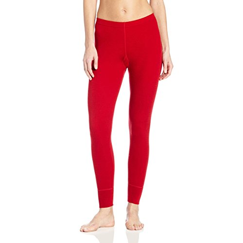 Minus33 Merino Wool Women's Franconia Midweight Bottom, True Red, Small