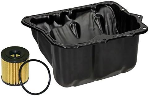 ECD Germany oil sump oil pan including oil filter