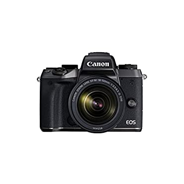 Canon EOS M5 Mirrorless Camera Kit EF-M 18-150mm f/3.5-6.3 IS STM Lens Kit Wi-Fi Enabled & Bluetooth
