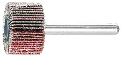 PFERD 45173 1'' x 5/8'' Mounted Flap Wheel 1/4'' Shank - Aluminum Oxide - 80 (10pk)