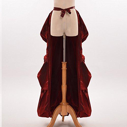 GRACEART Vittoriano Steampunk Rosso Trambusto Cintura Costume Burlesco BB8qrHvxn