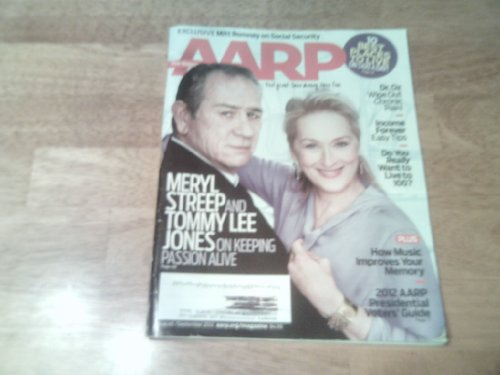AARP Magazine - Meryl Streep and Tommy Lee Jones on for sale  Delivered anywhere in USA