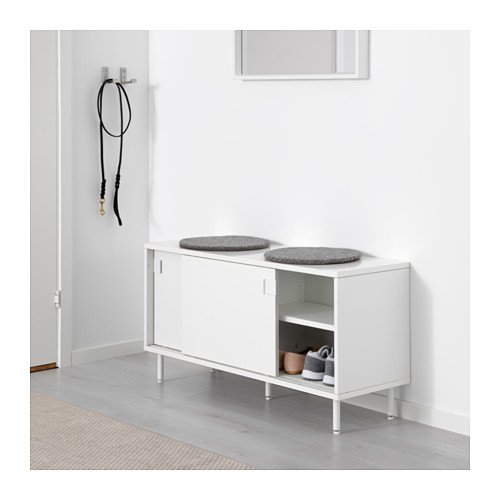Amazon.com: IKEA – banco con compartimentos de ...