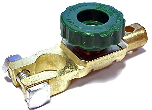 Green Wheel Car Marine Heavy Duty Battery Cut Off Isolator Switch 6v 12v 24v BB Classics