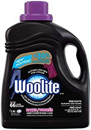 Woolite Darks, Laundry Detergent, Mega Value Pack, 2.96 L, With Colour Renew - Clothes Look New Longer 1 Count