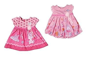 Amazon.es: Baby Born - 822111 - Vestido para muñecas rosa ...