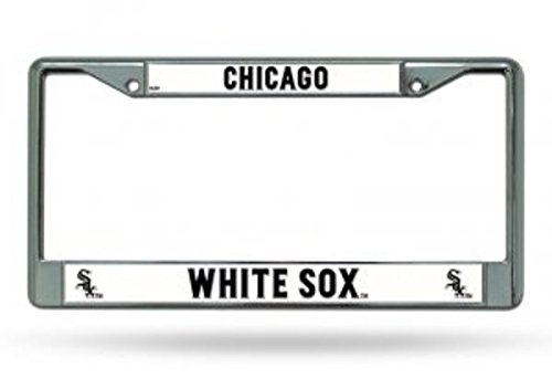 MLB Chicago White Sox Chrome License Plate Frame