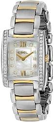 EBEL Women's 1215769 Brasilia Analog Display Swiss Quartz Two Tone Watch