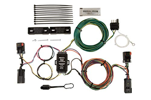 - Hopkins 56203 Plug-In Simple Towed Vehicle Wiring Kit