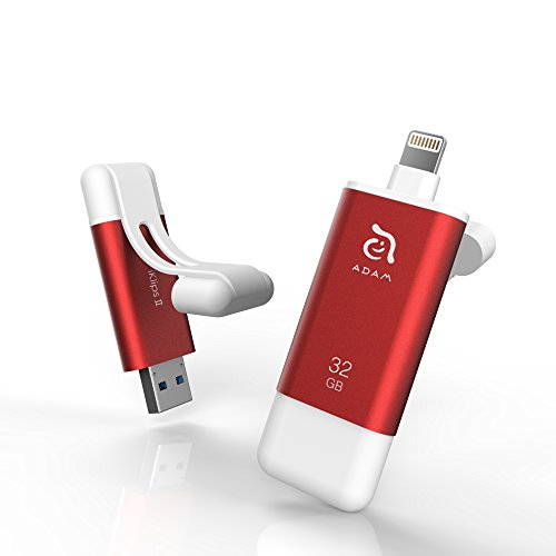 iKlips II 32GB USB 3.1 Lightning Flash Drive External Memory