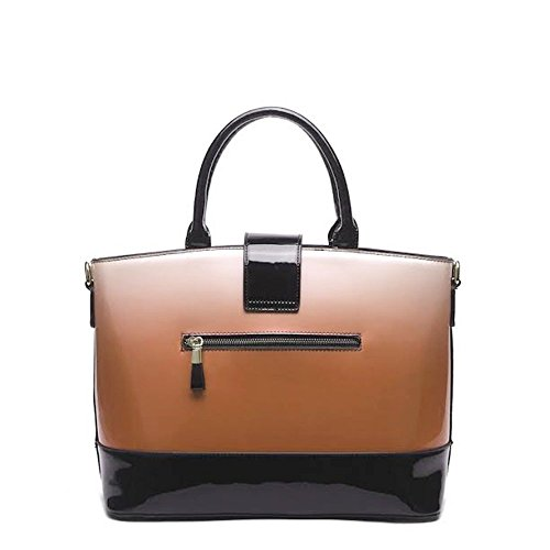 Women's Style Quality Faux Light Orange Bag Tote Quality Bags Ladies CWS00329 Leather Handbag Celebrity Fashion Beige Designer wI4fpvq