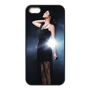 New Selena Gomez funda iPhone 4 4S caja funda del teléfono celular del teléfono celular negro cubierta de la caja funda EOKXLKNBC11619